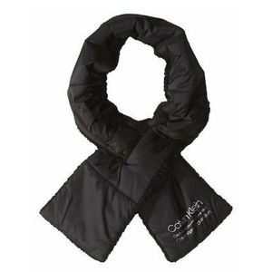 Calvin Klein Nylon Puffer Scarf (Black) Scarf